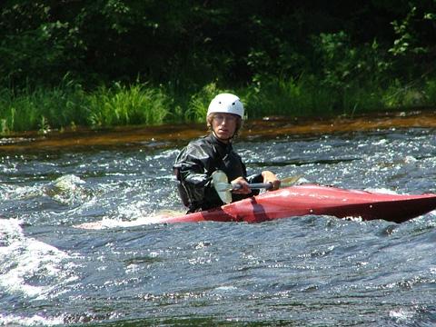 Combinaison pour kayak de mer